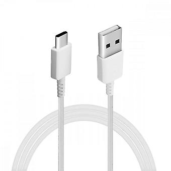 USB to USB C Charge and Sync Cable 80cm EP-DR140AWE Samsung White