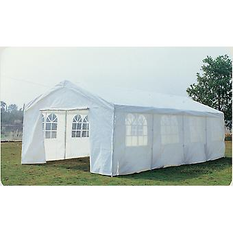 8M X 4M tuin grote Marquee bruiloft/Party tent gazebo-wit Douchebestendig