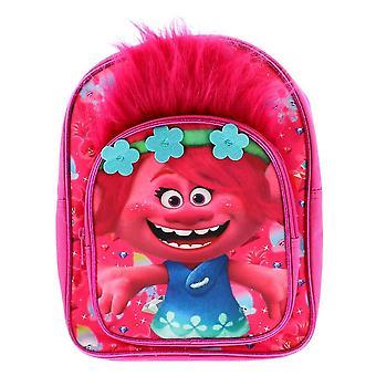 Children's Trolls Poppy Novelty Pink Backpack