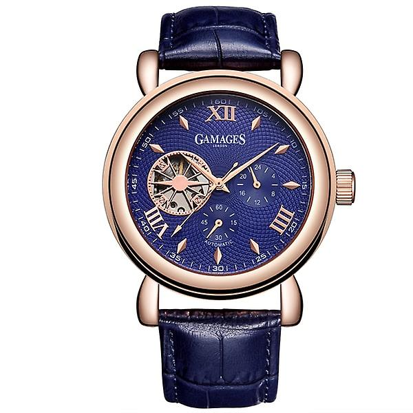 Gamages Of London Limited Edition Hand Assembled Hour Timer Automatic Rose