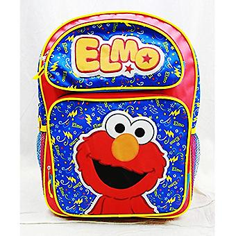 Backpack - Sesame Street - Elmo Red Large School Bag New ss20500