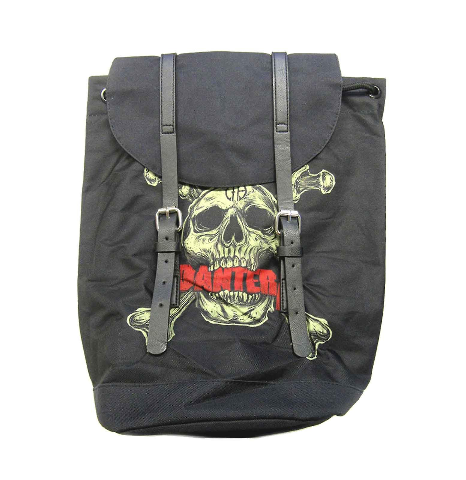 Pantera ryggsekk Heritage bag Skull N Bones band logo nye