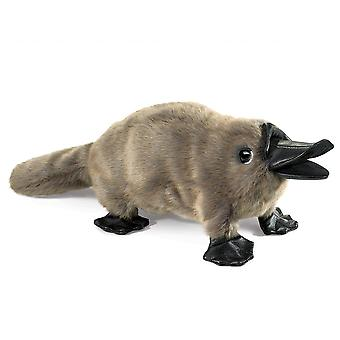 Hand Puppet - Folkmanis - Platypus Baby New Animals Soft Doll Plush Toys 3037