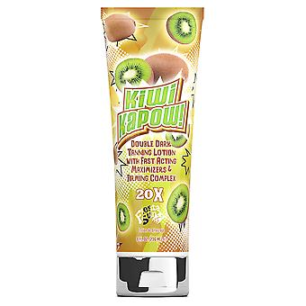 Fiesta Sun KIWI KAPOW Fast Acting Double Dark Tan Booster Tanning Lotion - 236ml