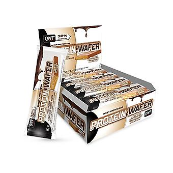 QNT Protein Wafer Bar Concentrated Body Fuel & Slimming (Chocolate) 12 X 35g