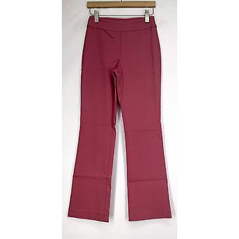 Marla Wynne FLATTERfit Boot Cut broek w/mesh tummy panel Womens