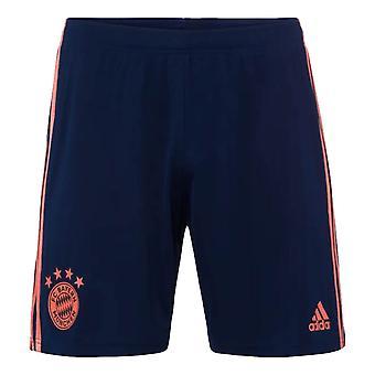 2019-2020 Bayern München Adidas Dritte Shorts (Navy)