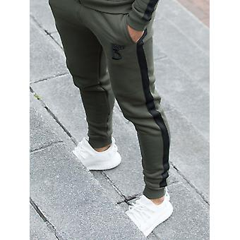 Radiate Tracksuit Bottom With Tape Detail | Enzo Designer Menswear