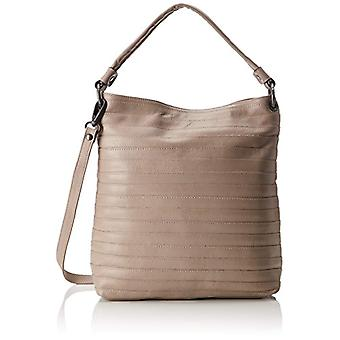 Think Pockets_282814 - Women Beige Shoulder Bags (Stained 24) 12x35x33cm (B x H T)