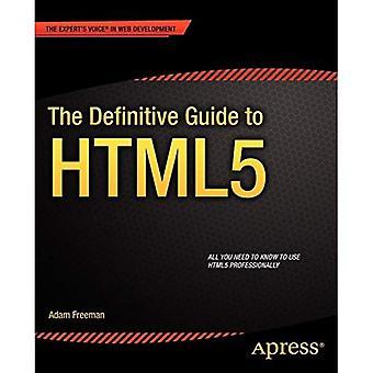 O guia definitivo para HTML5