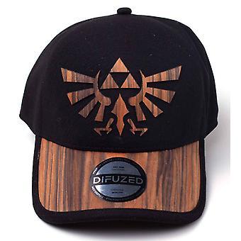 Zelda baseball cap træ sømløse Hyrule logo ny officiel Nintendo sort