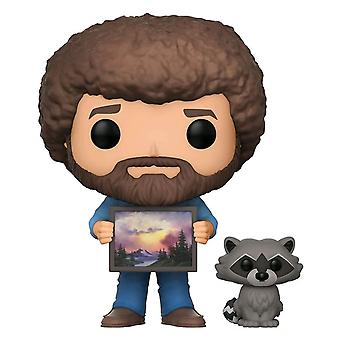 The Joy of Painting Bob Ross & Raccoon w/ chase Pop! Vinyl