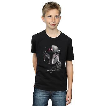Star Wars Boys The Mandalorian Poster T-Shirt