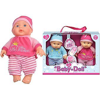 "Twin Baby Dolls 9"" Set regalo"