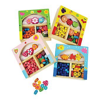 Bigjigs Toys Kids Mini Jewellery Kit Arts Crafts Accessories