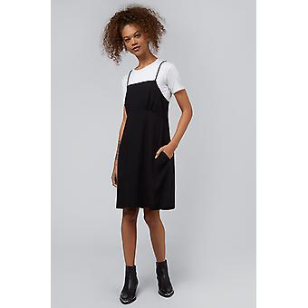 Louche Marna Empire Waist Dress Black