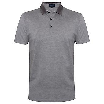 Lanvin Grey Grosgrain slim fit Piquí © Polo shirt
