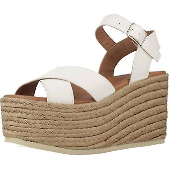 Yellow Sandals Brown Rose White