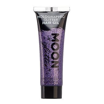 Holographic Glitter Hair Gel de Moon Glitter - 20ml - Purple