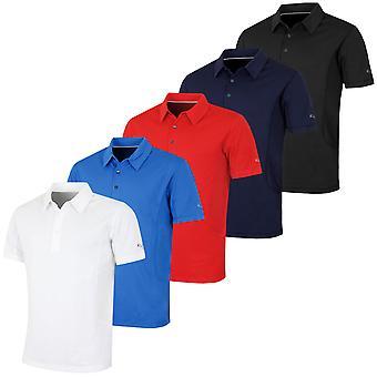 Puma Golf mens tech Cresting DryCell geventileerd Polo shirt