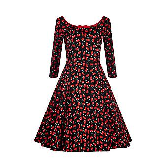 Collectif Vintage Women's Willow Small Cherries Dress