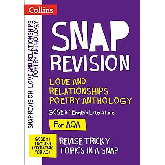 Love  Relationships Poetry Anthology New GCSE Grade 91 AQ