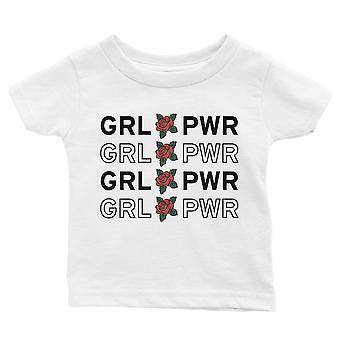 365 painaminen tyttö teho vauva graafinen T-paita lahja valkoinen vauva poika vauva tee