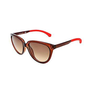 Calvin klein women's sunglasses, brown 31770