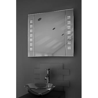 LED Spiegel Schrank mit Sensor & Rasierer k19 zu überraschen