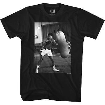 American Classics Muhammad Ali lävistys laukku T-paita-musta