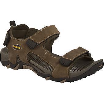 Hausfriedensbruch Mens Belay gepolstert drei Riemen verstellbar Fuß Sandale