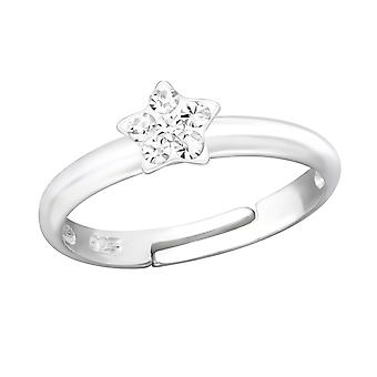 Star - 925 Sterling Silver Rings - W24013x