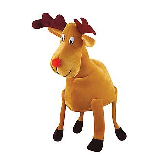 Bristol Novelty Unisex Adults Christmas Reindeer Hat