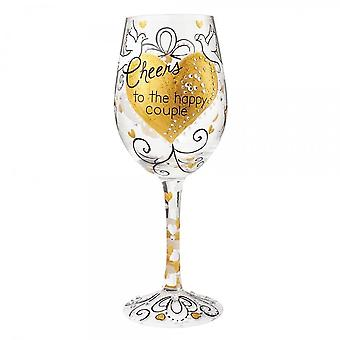 Lolita Happy Couple Wine Glass
