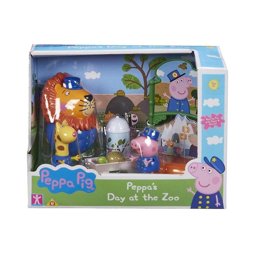 Peppa Pig Peppa&s Dag på Zoo Theme Playset