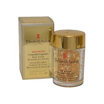 Elizabeth Arden Ceramide Advanced Ceramide Eye Serum diario juventud restaurar 60 cápsulas (10,5 ml)
