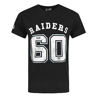 New Era NFL Oakland Raiders Vintage Team Number Men's T-Shirt
