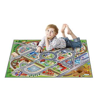 Achoka District Road Grip Playmat 75 x 112cm For Toddlers