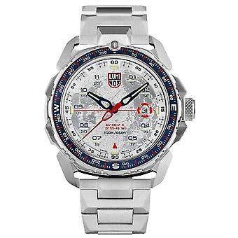 Luminox Ice-Sar Arctic Quartz White Dial Zilver Roestvrij Stalen Men's Watch XL.1207