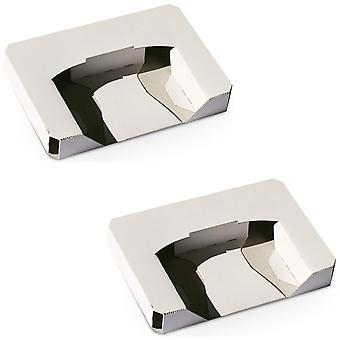 Replacement inner cardboard tray for nintendo 64 games - 2 pack white | zedlabz