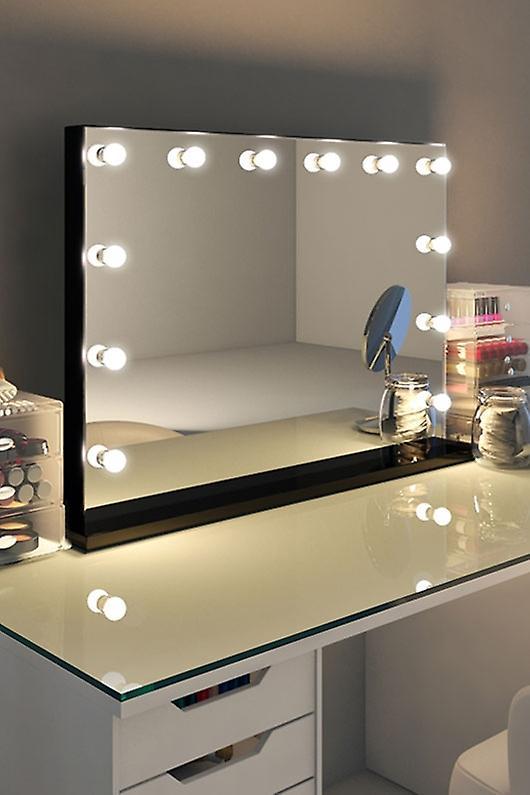 RGB Lucienne Black Edge Mirror (Grand) k314Mcwrgb