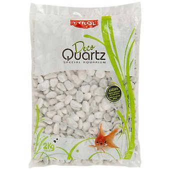 Agrobiothers Varnished White Gravel (Fish , Decoration , Gravel & sand)