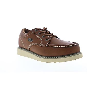 Lugz Roamer LO  Mens Brown Leather Casual Boat Shoes