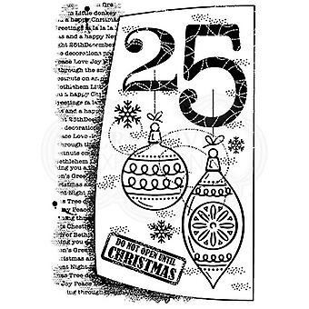 Woodware Clear Stamp - 25th December
