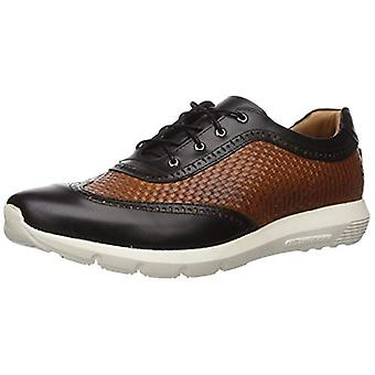 MARC JOSEPH NEW YORK Men's Leather Extra Lightweight Woven Wingtip Oxford Lac...