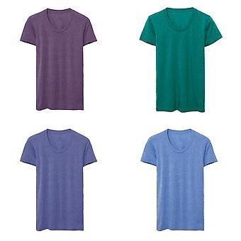 American Apparel naisten/naisten Tri-Blend radan t-paita
