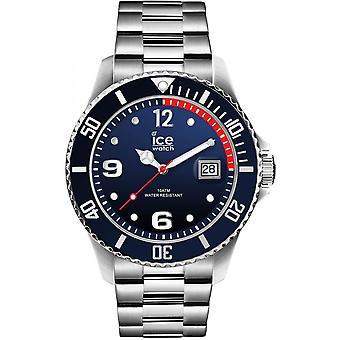 ICE Stahl - Marine Silber - Groß - 3H