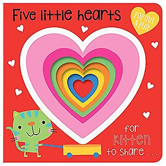 Five Little Hearts - 9781786929242 Book