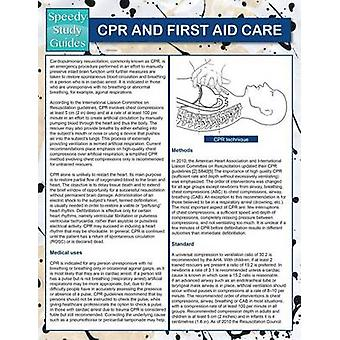 CPR And First Aid Care Speedy Study Guides by Publishing LLC & Speedy