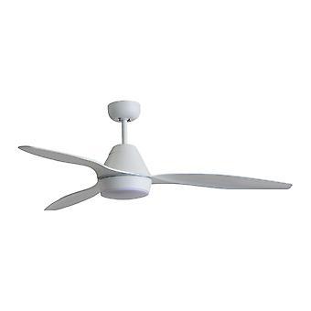 """Ceiling fan Triumph White 132cm / 52"""" with LED light"""